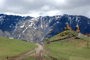 kazbegi marathon_Trinity church at 2700m