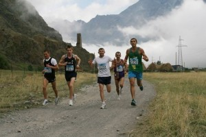 kazbegi marathon runner