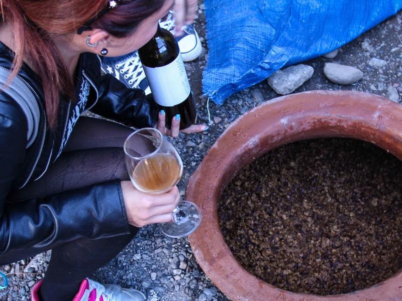 格魯吉亞旅遊Qvevri wine